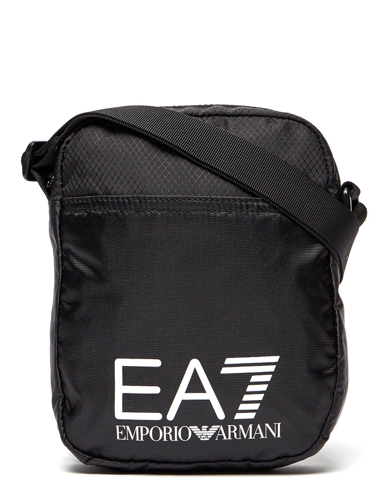 85113aa6130d5 Emporio Armani EA7 Train Logo Small Pouch Bag | JD Sports Ireland