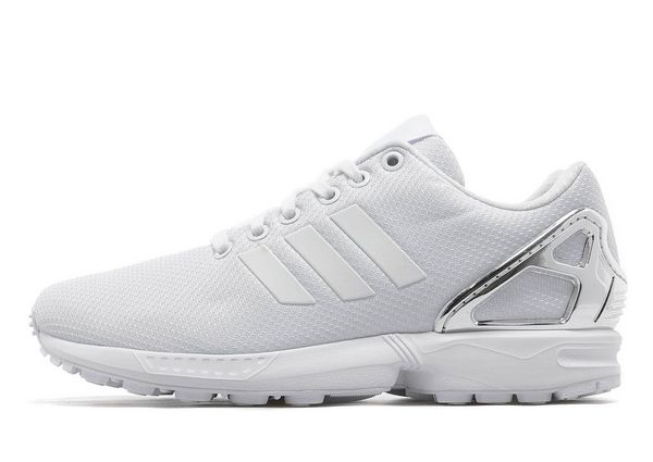 low priced 290fc 7b4f7 adidas zx flux womens white