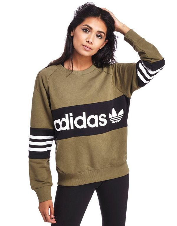 adidas originals street crew sweatshirt jd sports. Black Bedroom Furniture Sets. Home Design Ideas