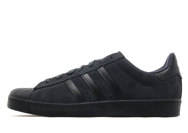 adidas Superstar Vulc ADV Black & White Shoes Men's Shoes