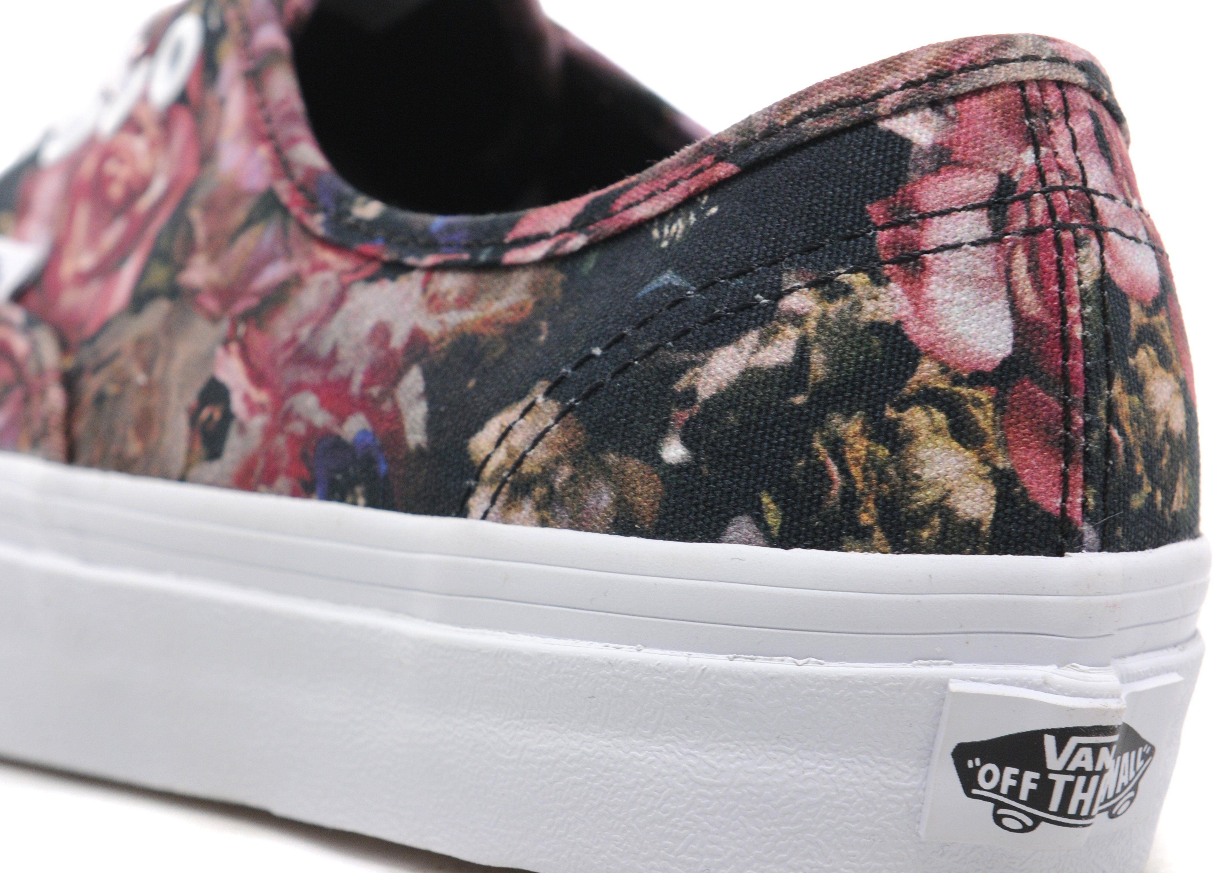 Vans Authentic Floral Women's