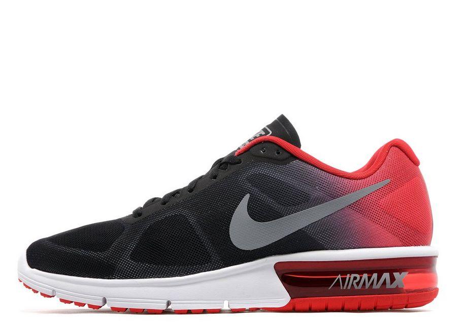 Shopping 207423 Nike Air Max 90 Men Black Red Shoes
