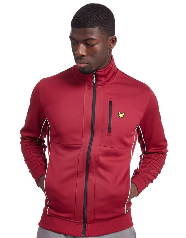 Lyle & Scott Riley Track Top Red - Mens Track Tops