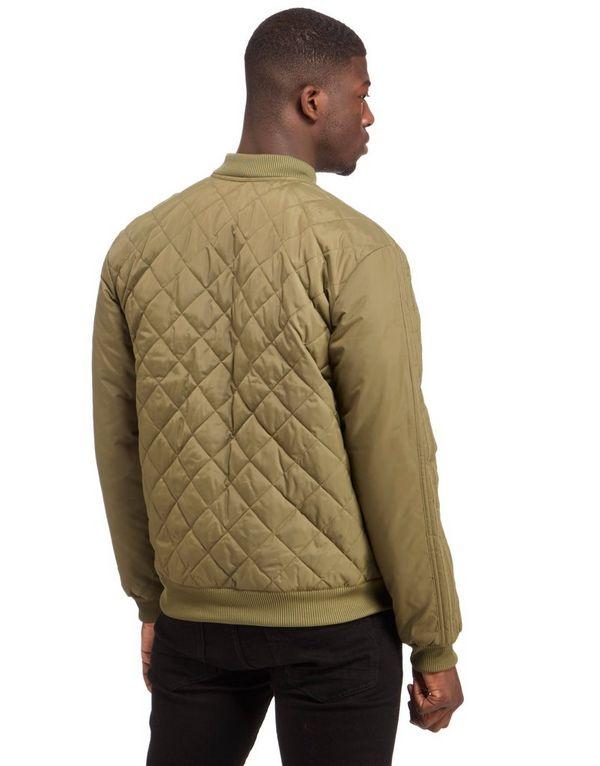 Adidas Original Quilted Bomber Jacket