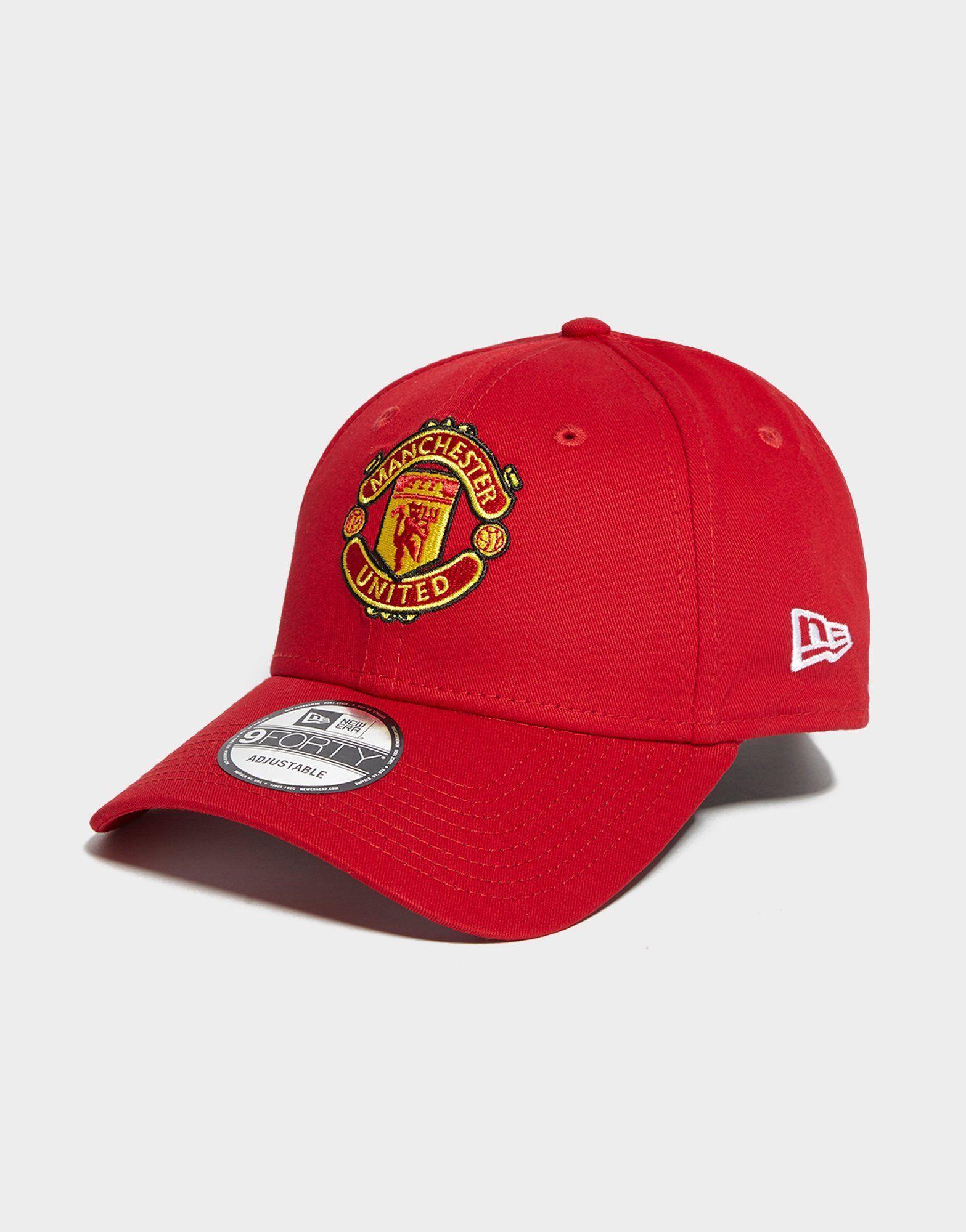 New Era 9FORTY Manchester United verstelbare pet