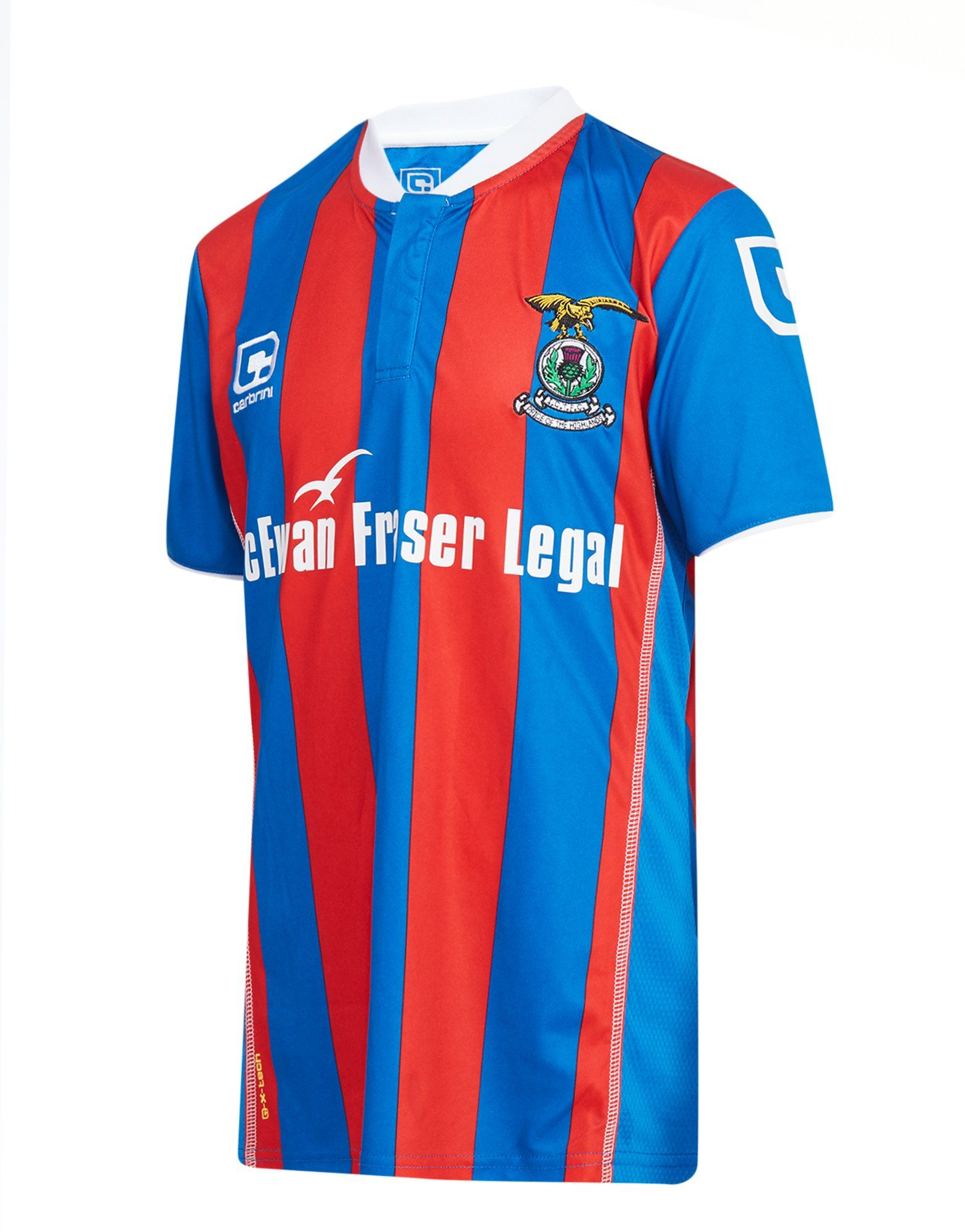 Carbrini Inverness CT 2016/17 Home Women's Shirt