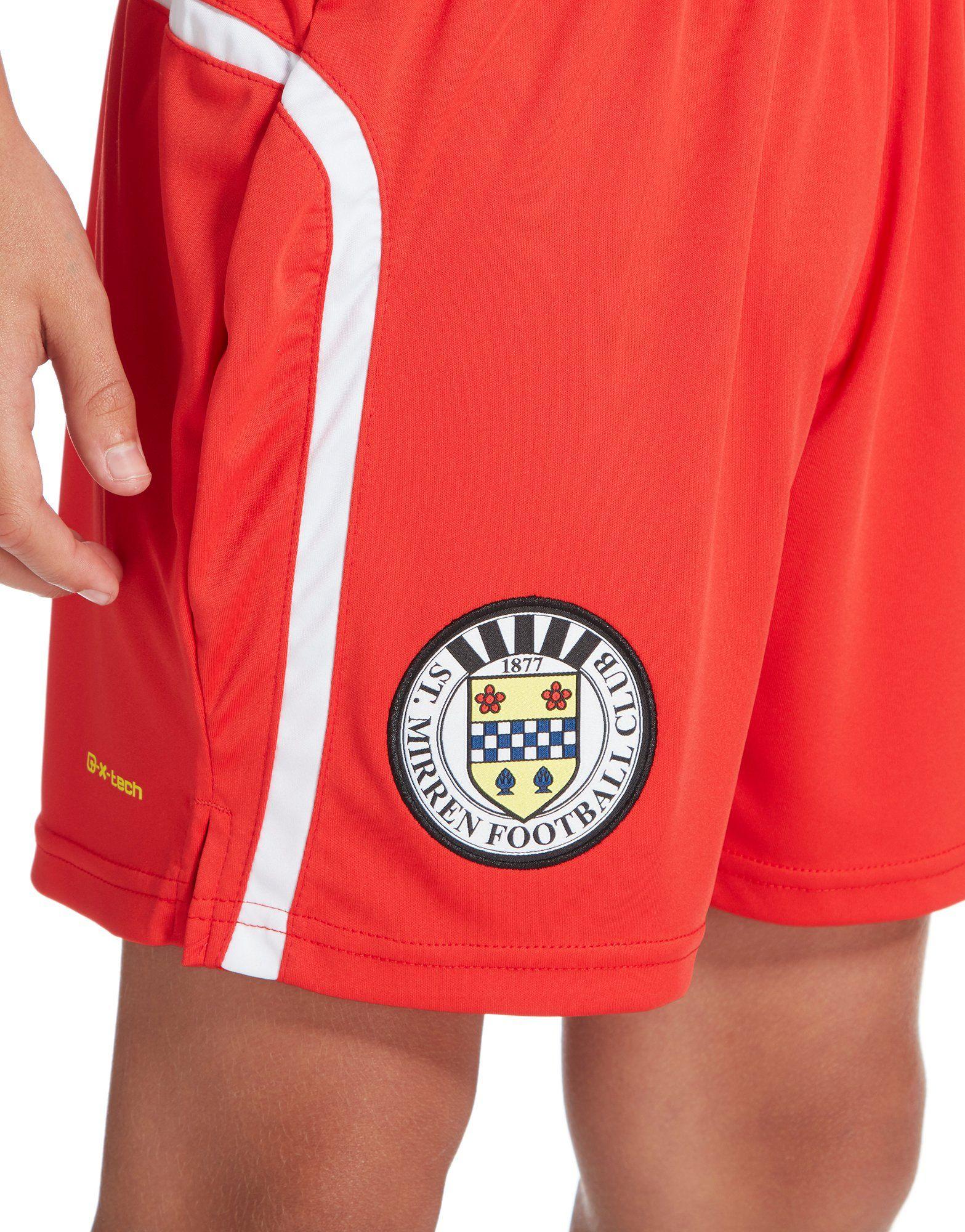 Carbrini St Mirren FC 2016/17 Home Shorts Junior