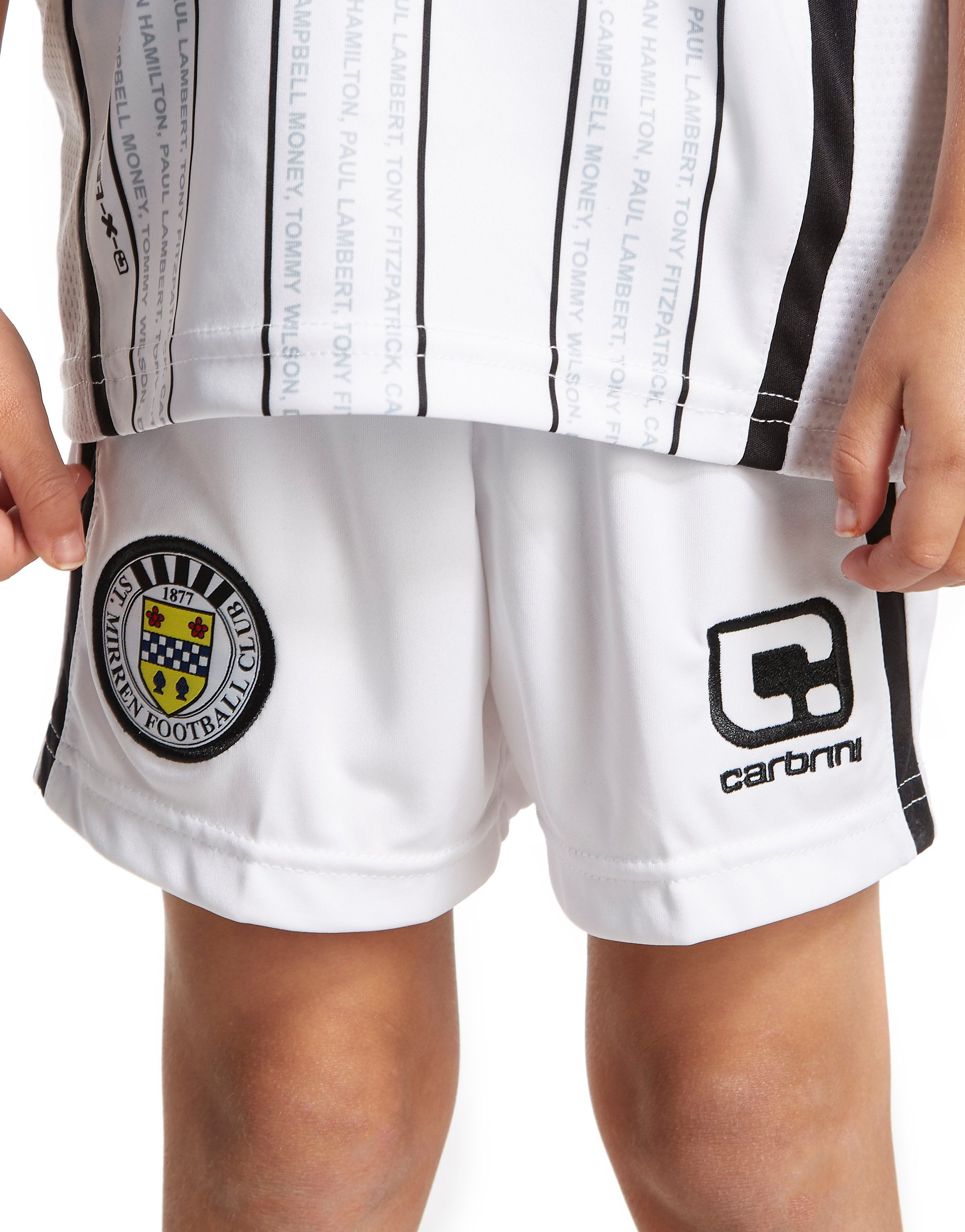 Carbrini St Mirren FC 2016/17 Home Kit Children