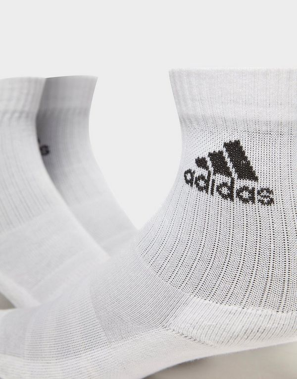 a33f5537ccc adidas 3-Stripes Performance Crew 3 Pack Socks | JD Sports Ireland