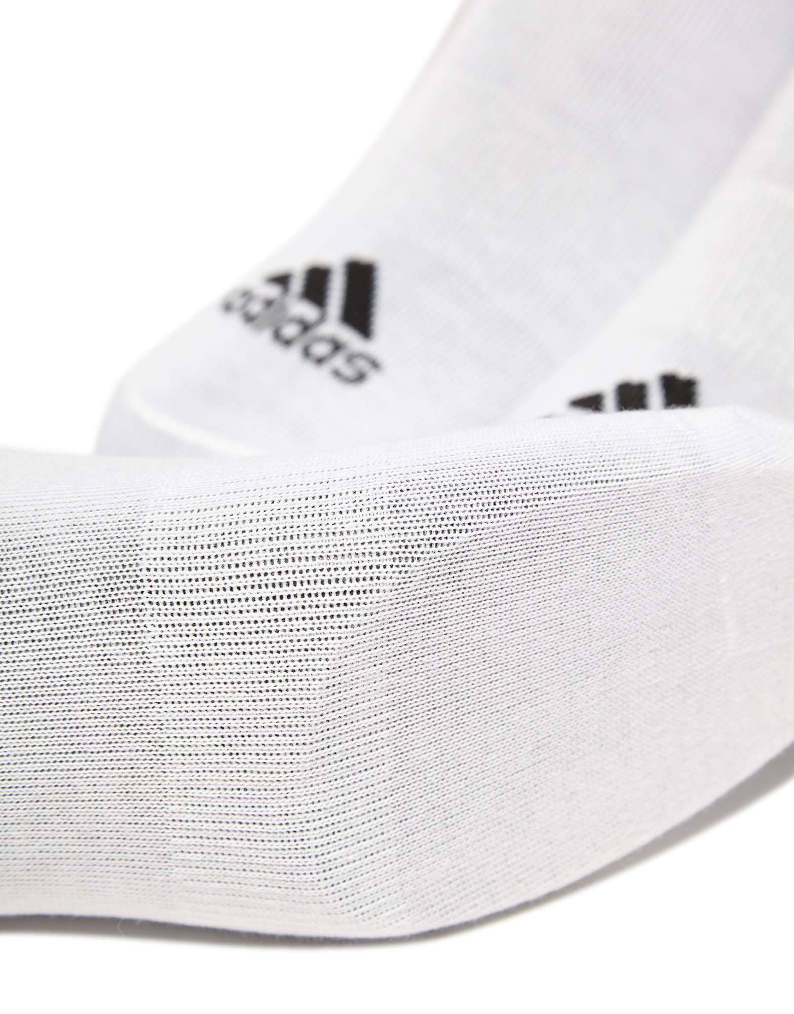 adidas Paquete de tres calcetines delgados No Show