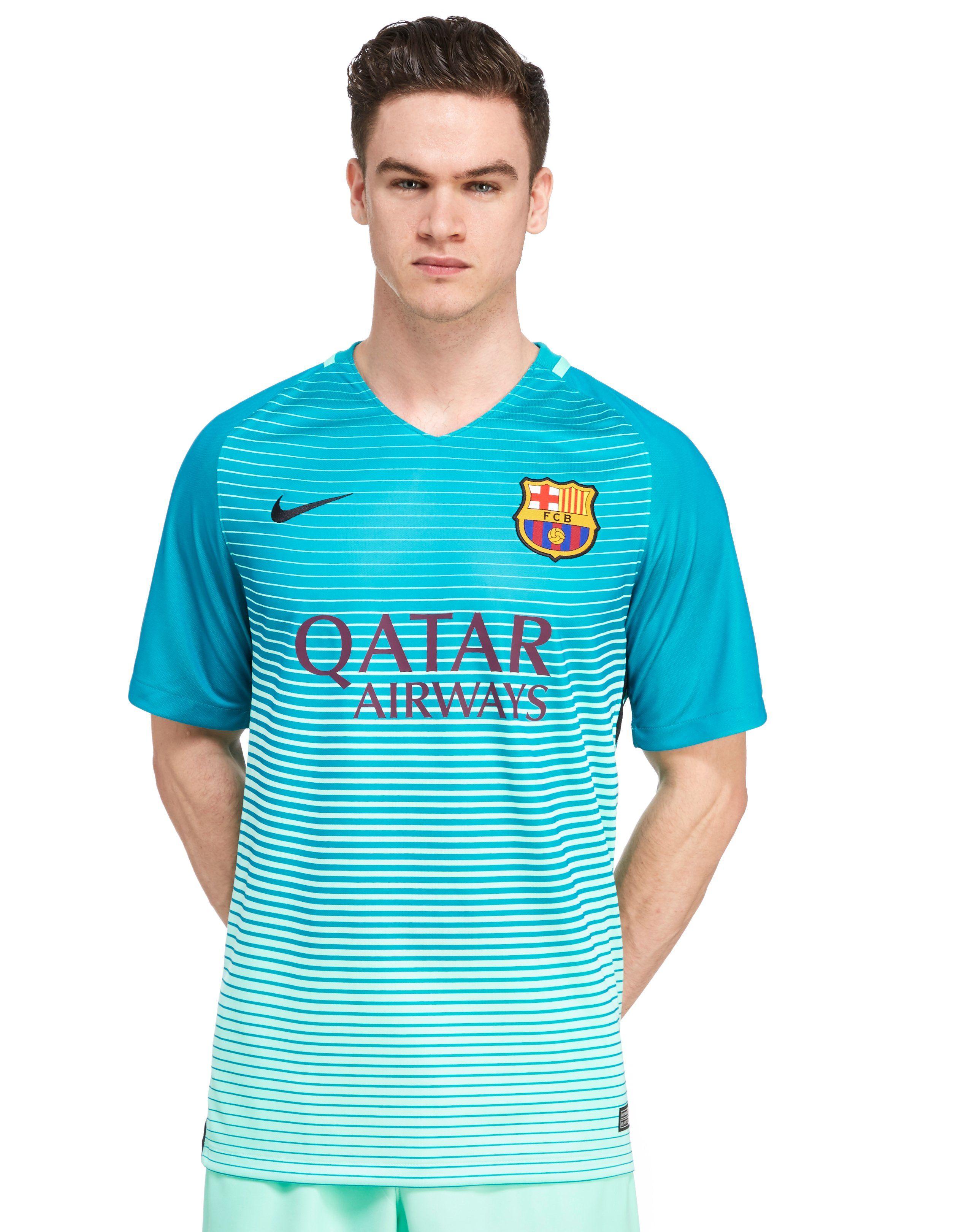 09c7bae65935a hot sale 2017 Nike FC Barcelona 2016/17 Third Shirt   JD Sports ...