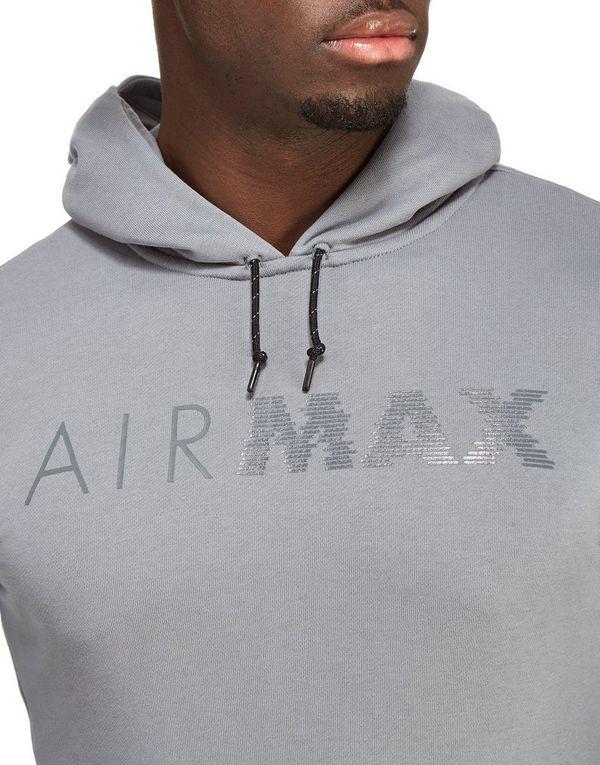 nike air max overhead hoody grey