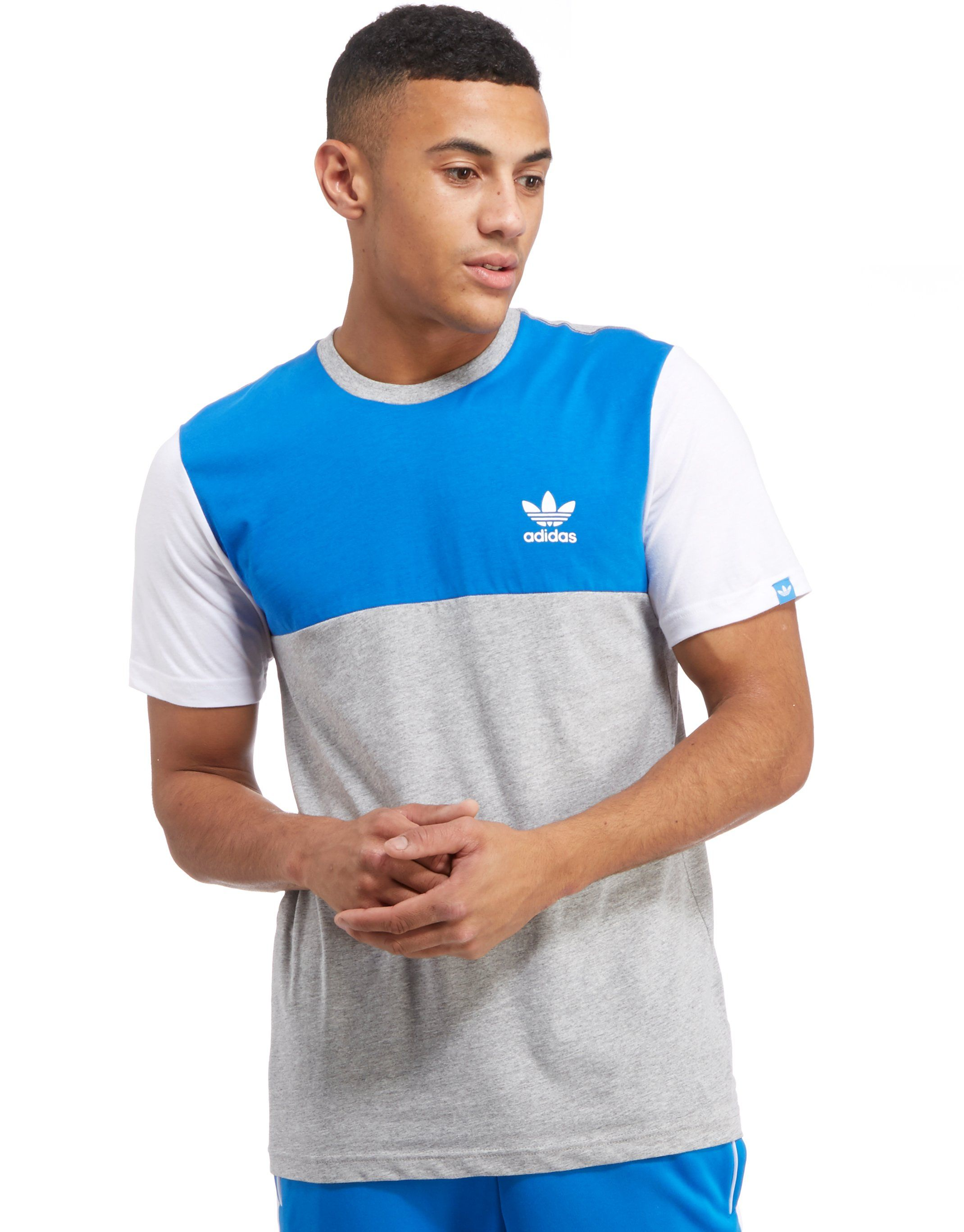 dec633678 free shipping adidas Originals Colour Block T-Shirt | JD Sports ...