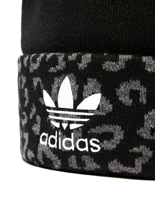 adidas Originals Leopard Pom Beanie  b5bb88ec67f