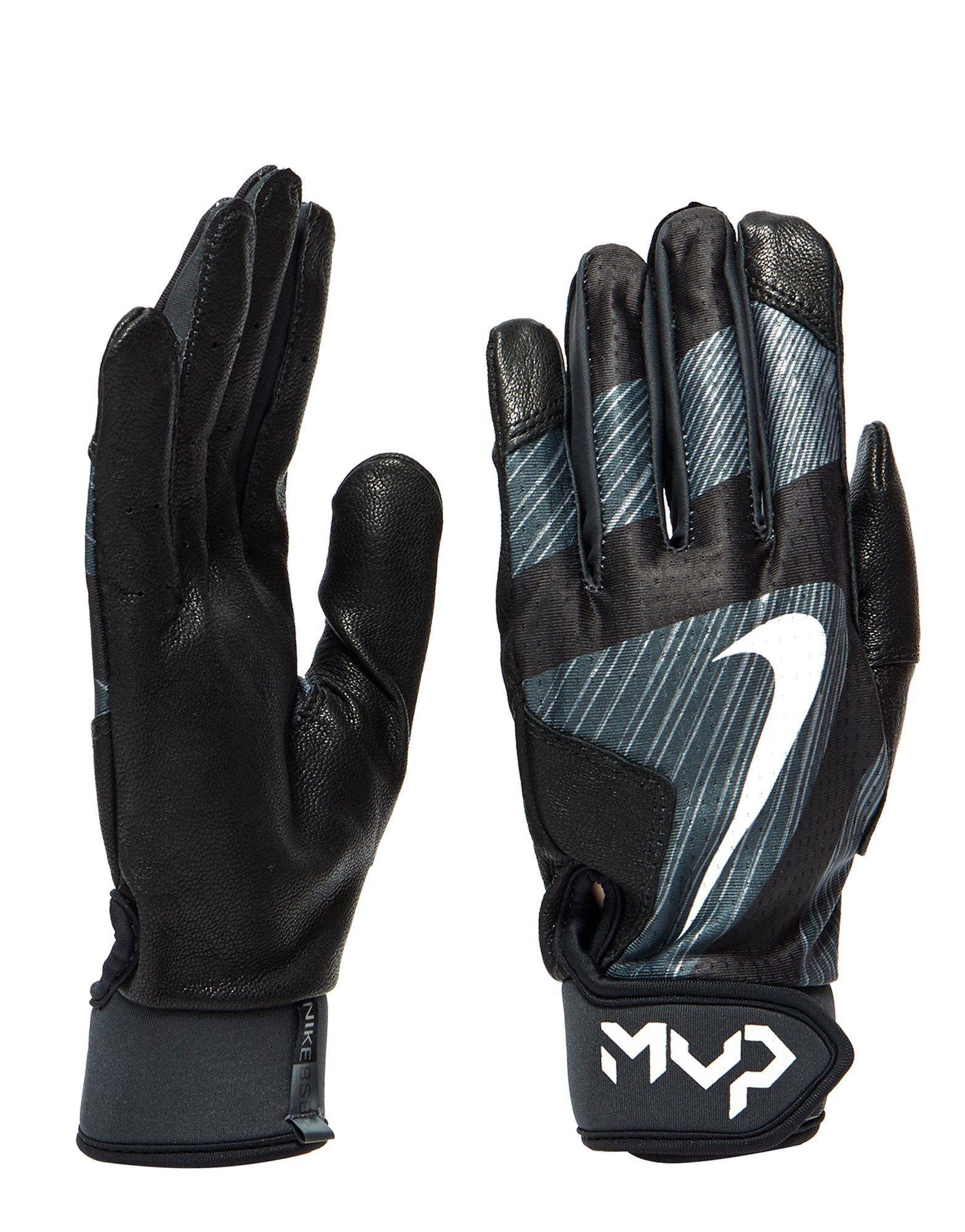 Mens leather gloves ireland - Nike Mvp Edge Batting Gloves