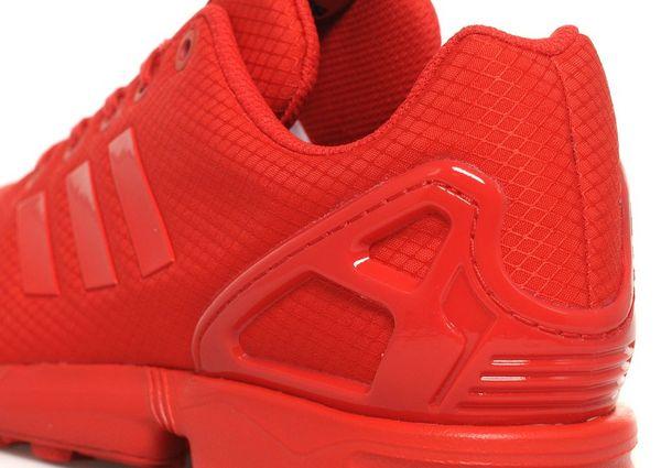 adidas originals zx flux red