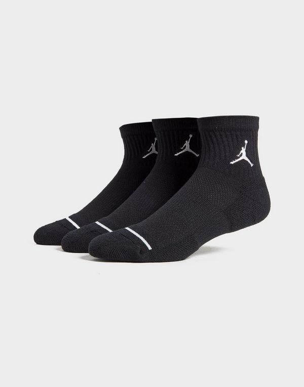 6a9c221d6e4e7b Jordan 3 Pack Drift Low Quarter Socks