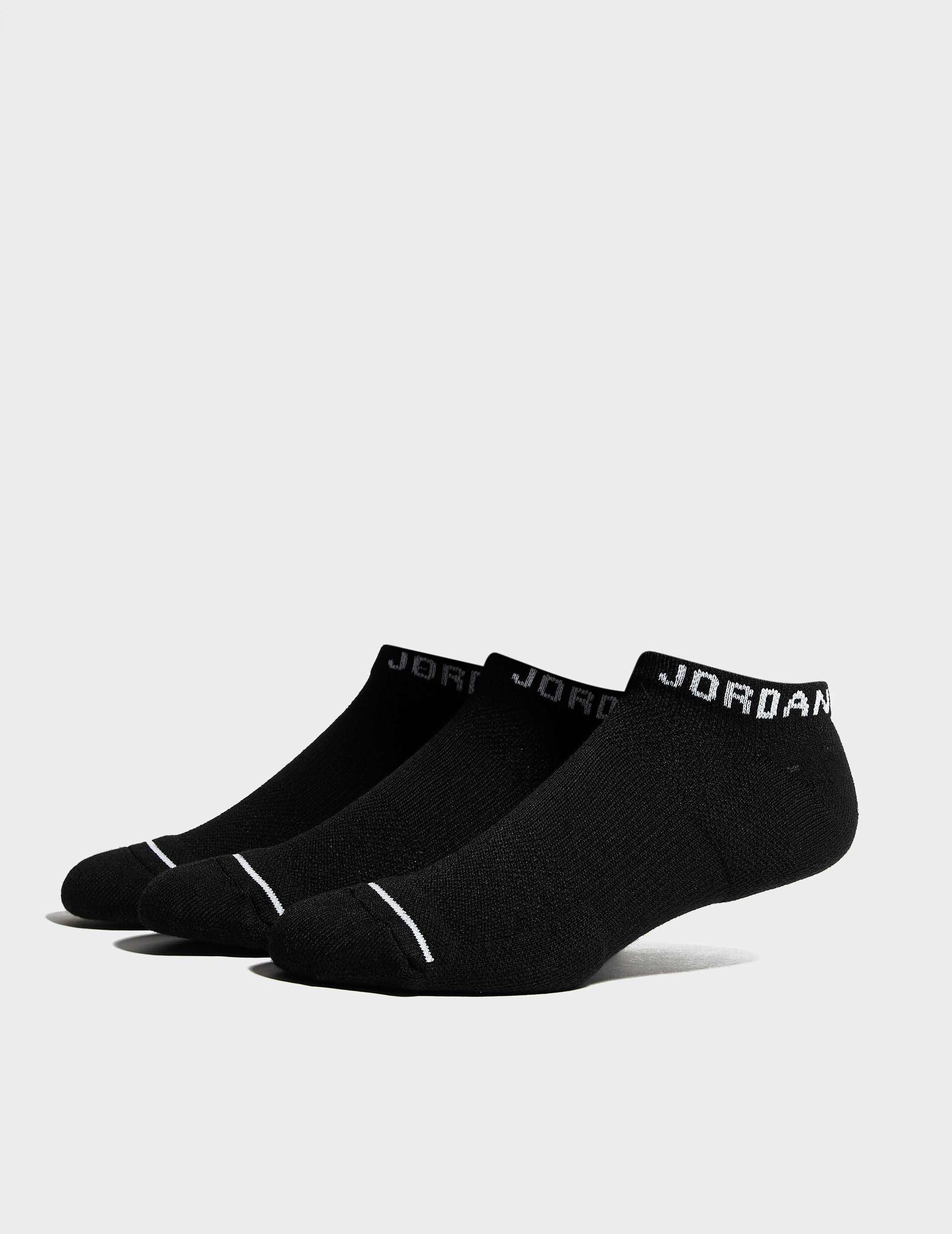 Jordan 3 Pack Dri-FIT No-Show Socks