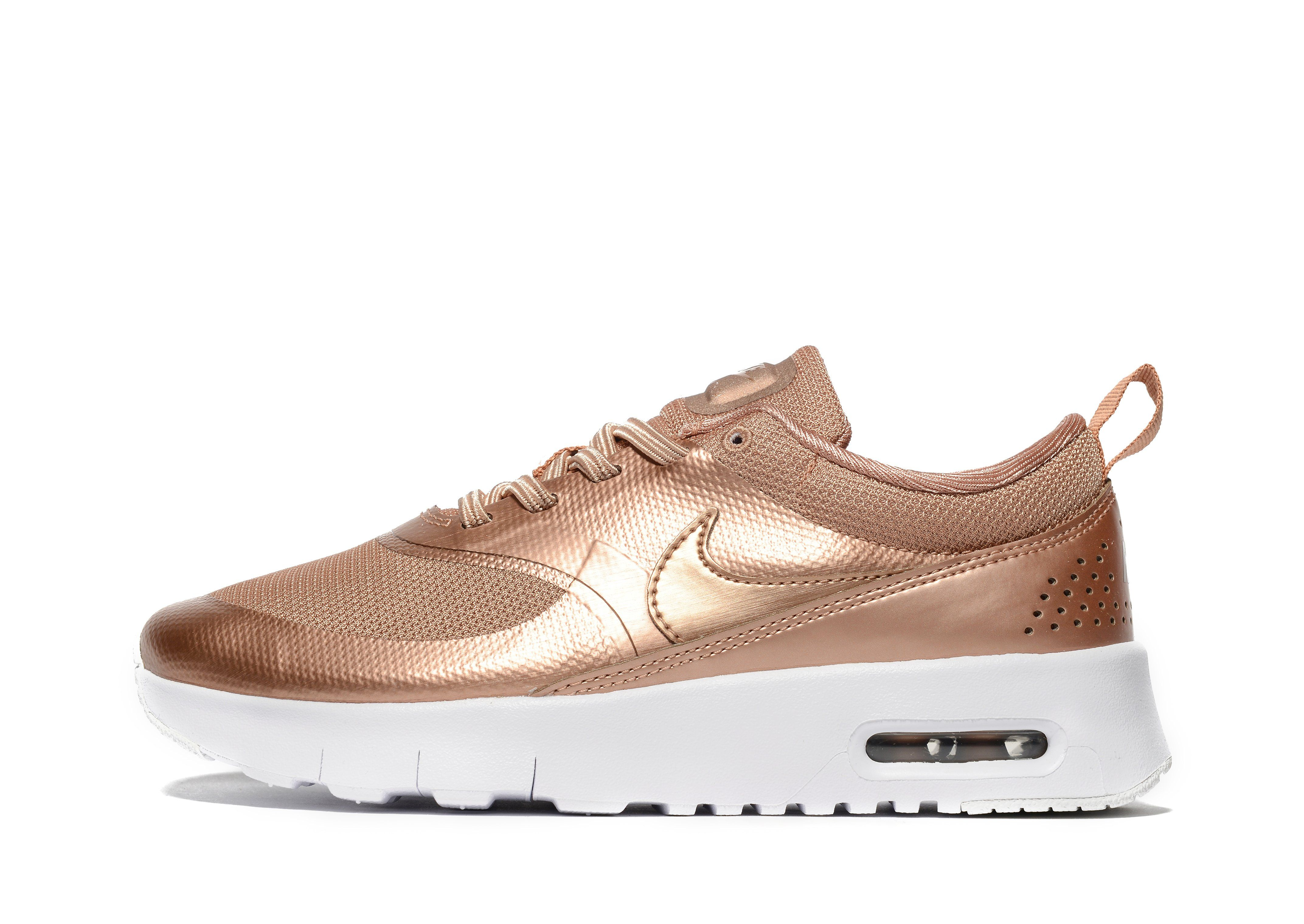 shoes, nike air max 1, pink, gold, brown shoes, prm, nike