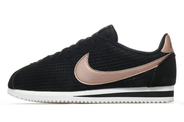 reputable site 9c73b d9196 nike cortez black and rose gold