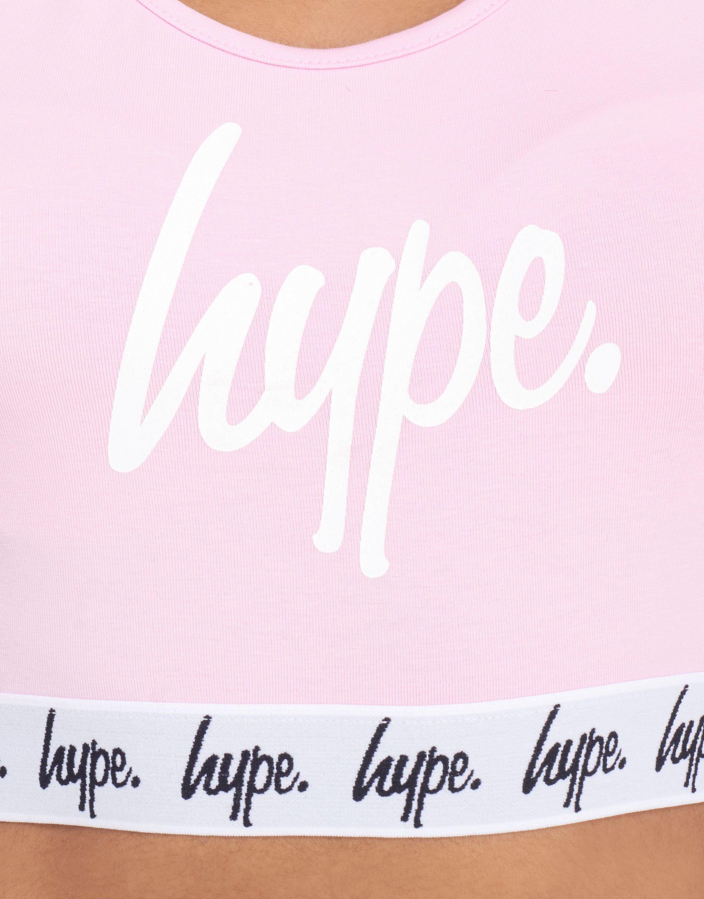 Hype Script Crop Top