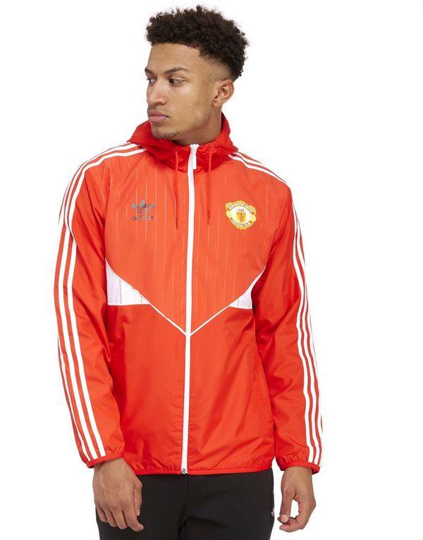 adidas Originals Manchester United Windbreaker - Red