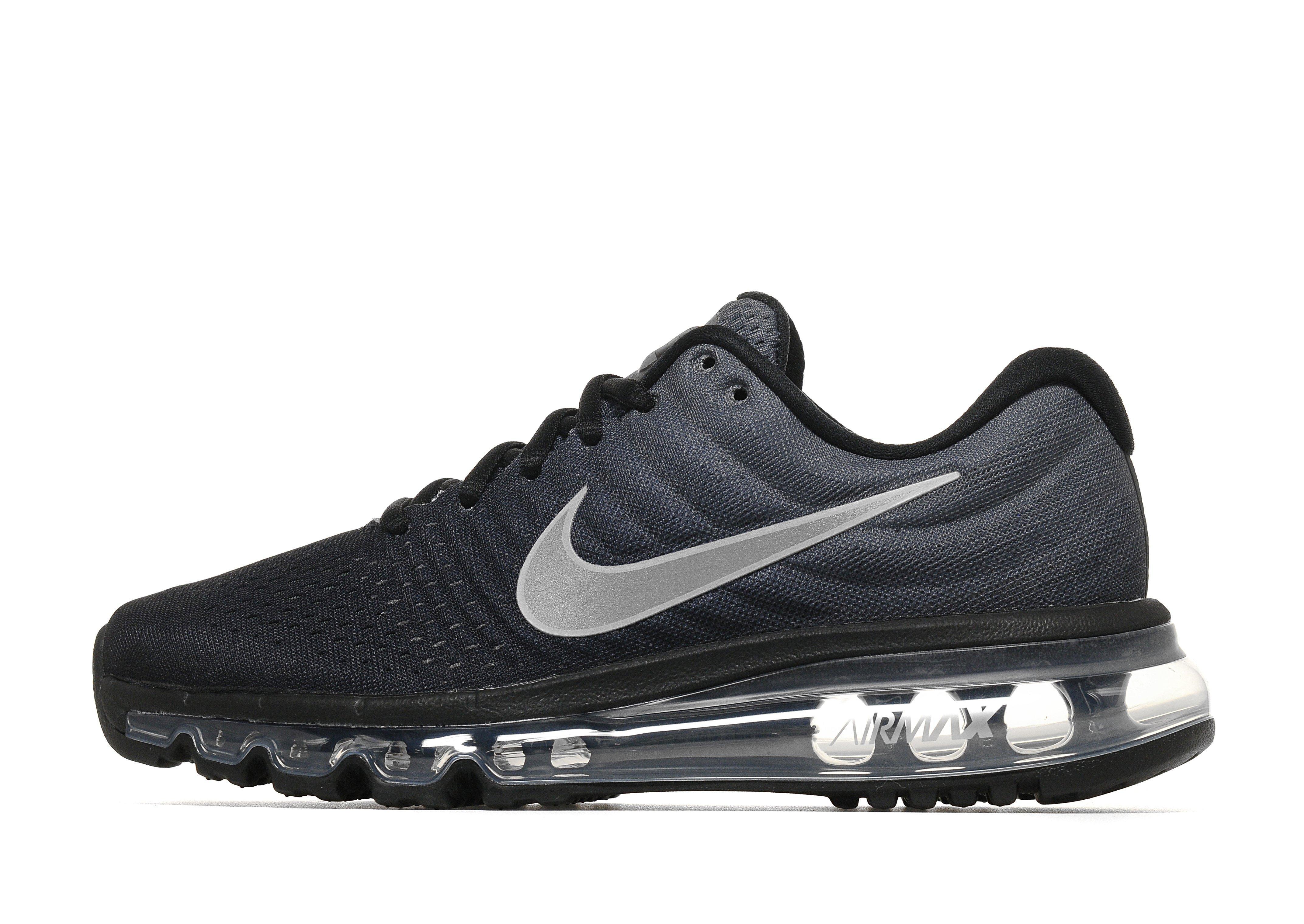Mens Nike Air Max 1 PRM Black White Cyber Cool Grey