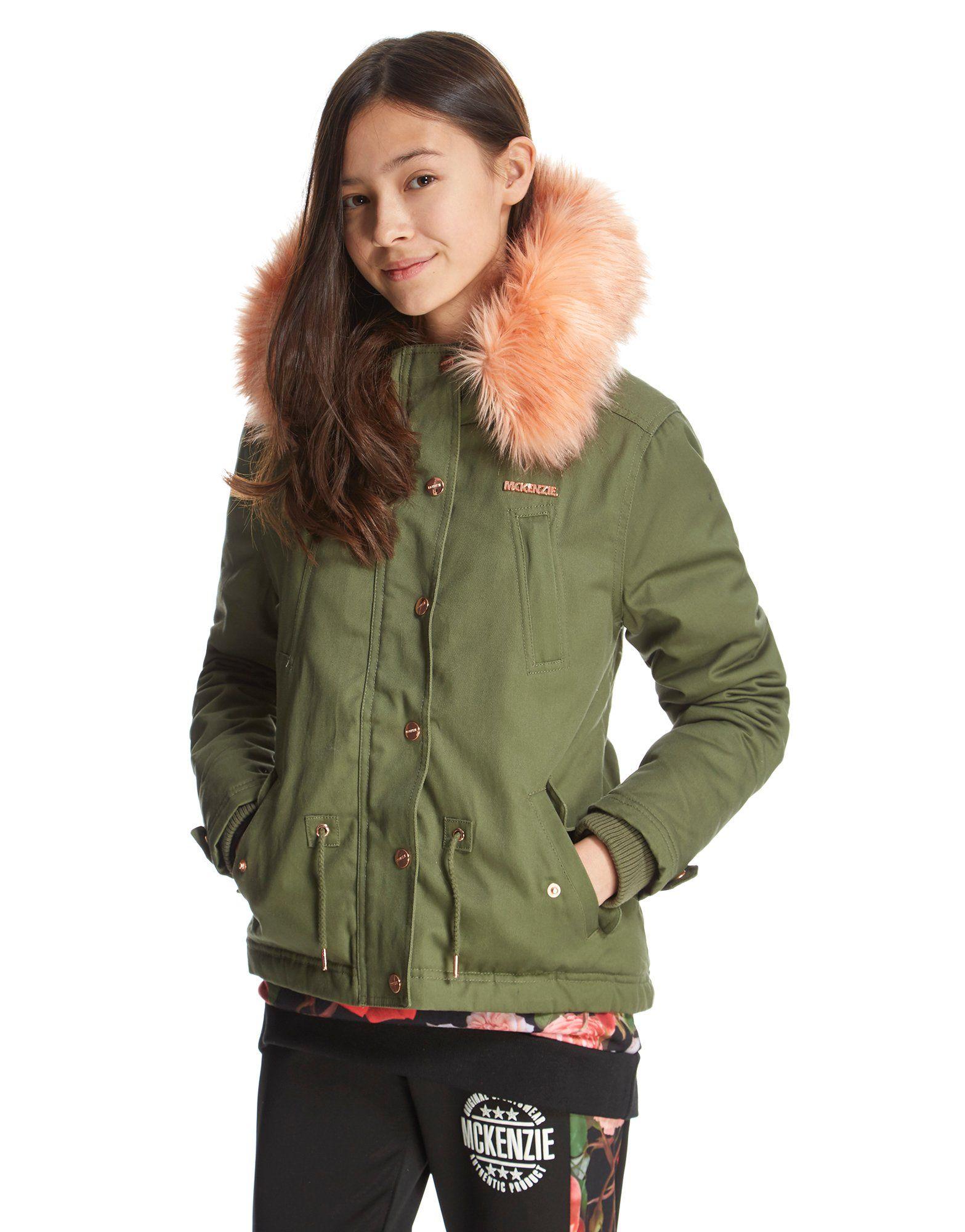 McKenzie Girls' Amelia Parka Jacket Junior | JD Sports