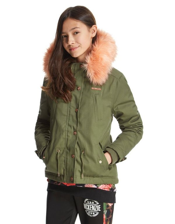 Girls green faux fur lined aviator jacket Girls green faux fur lined aviator jacket £ Product no: Size guide Only a few left in stock Add to bag. Add to wishlist. Check stock in store.