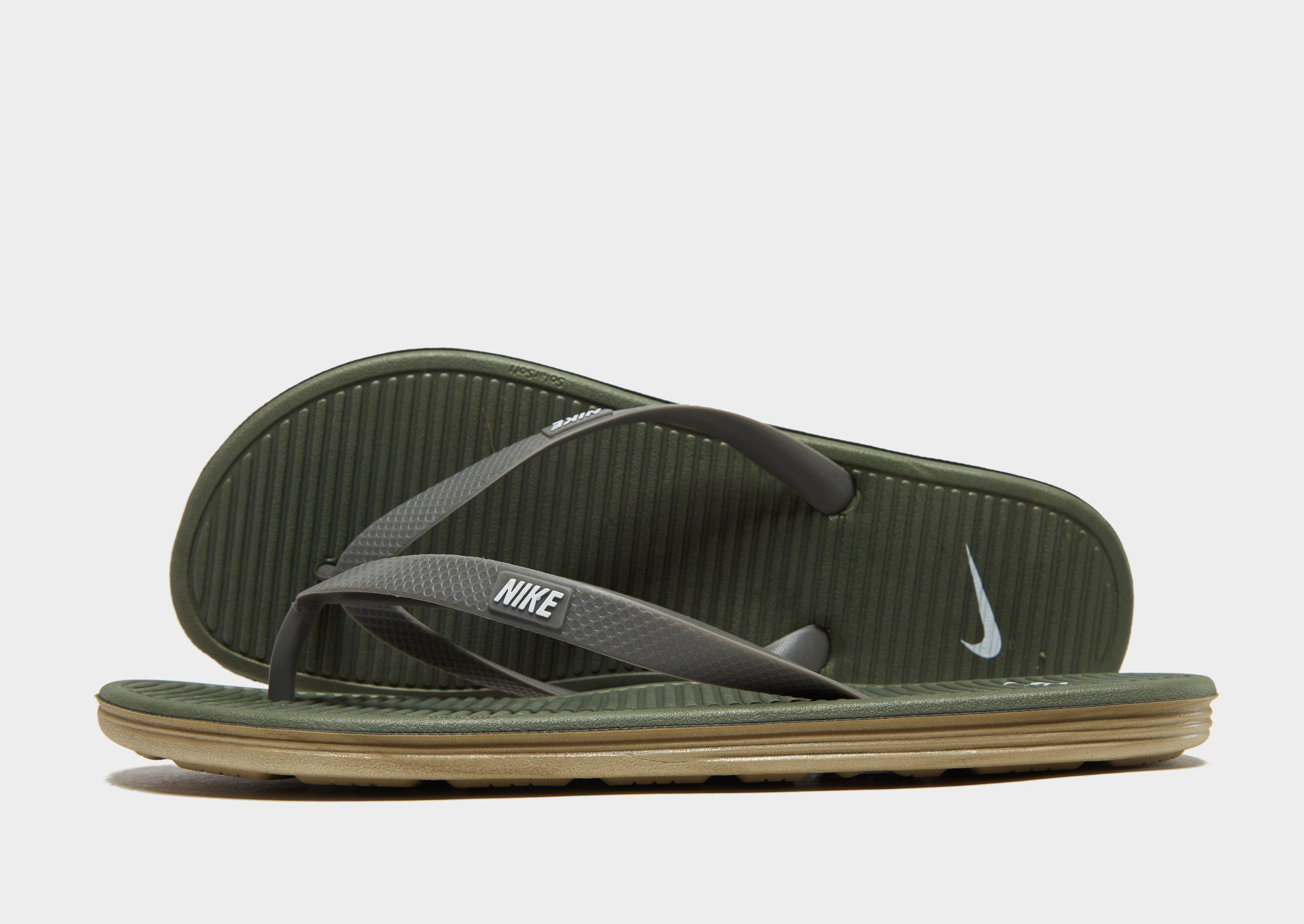 b519208729b8 Nike Solarsoft II Flip Flops