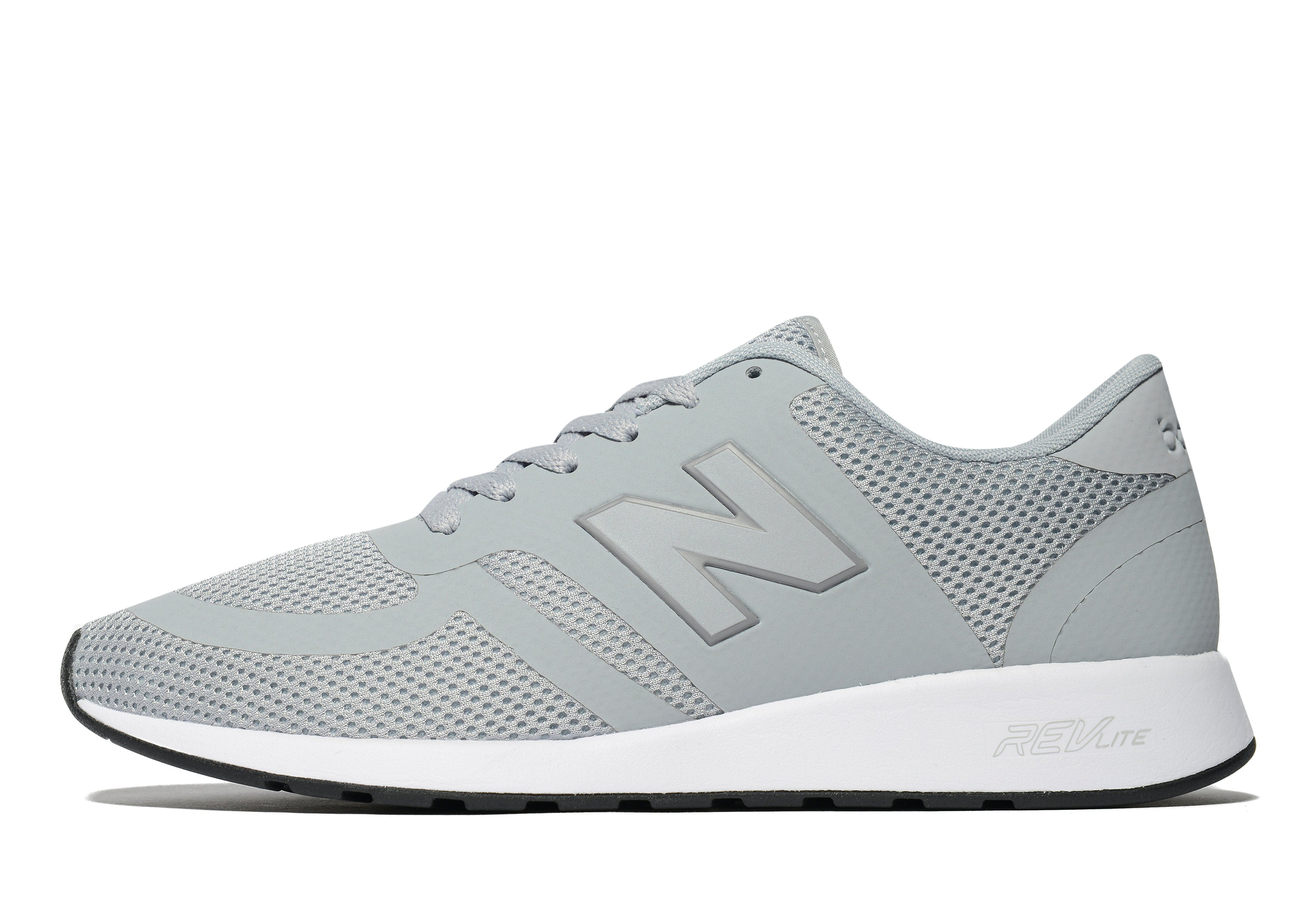 new balance 420 micro mesh trainers in grey