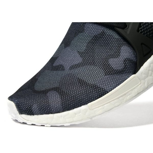 adidas Men's NMD Xr1 Duck Camo Shoes White Ba7233 a 12