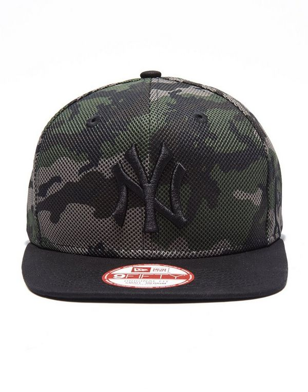 new era mlb new york yankees 9fifty mesh camo cap jd sports. Black Bedroom Furniture Sets. Home Design Ideas