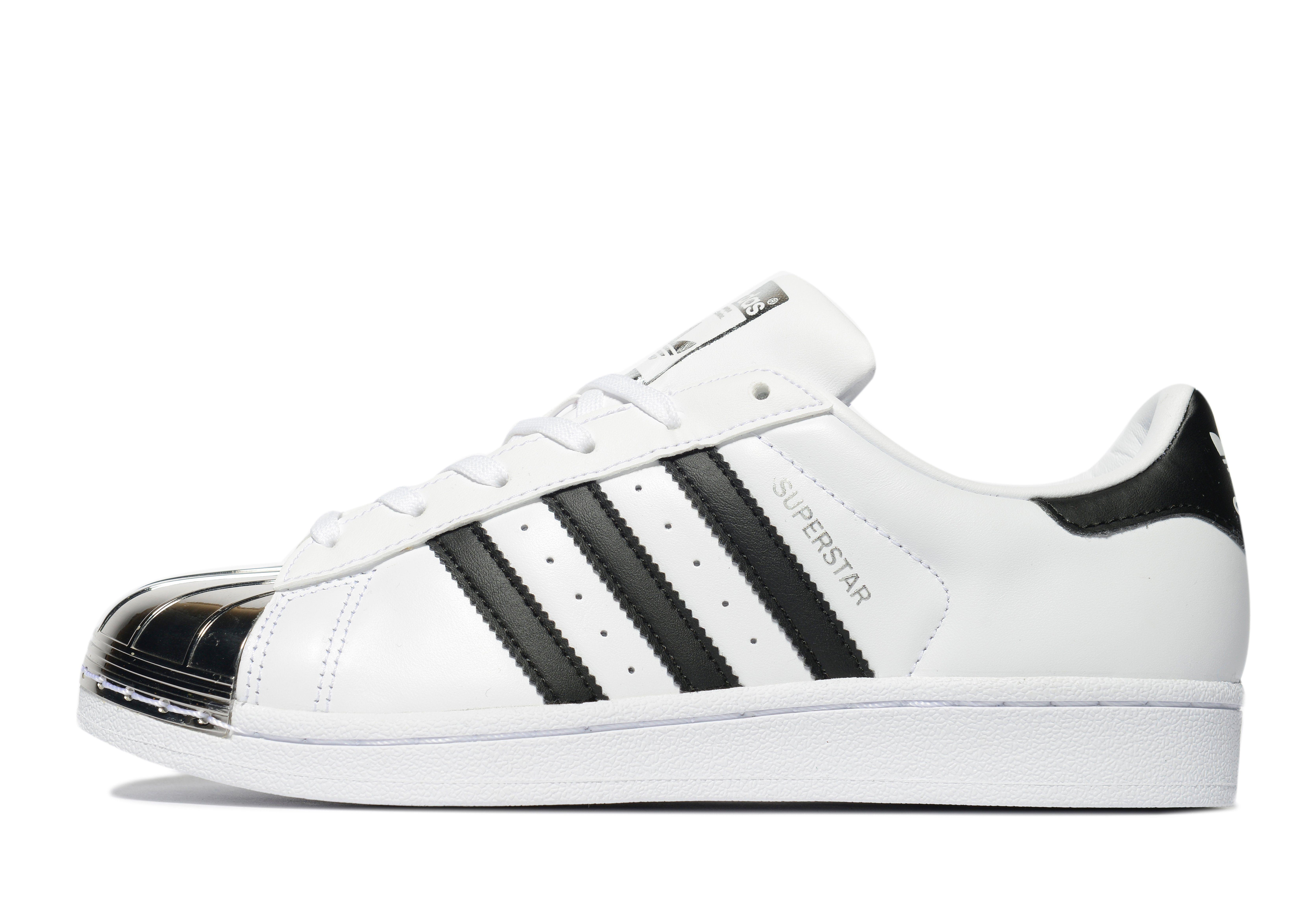 Adidas Superstar White And Black Women aoriginal.co.uk