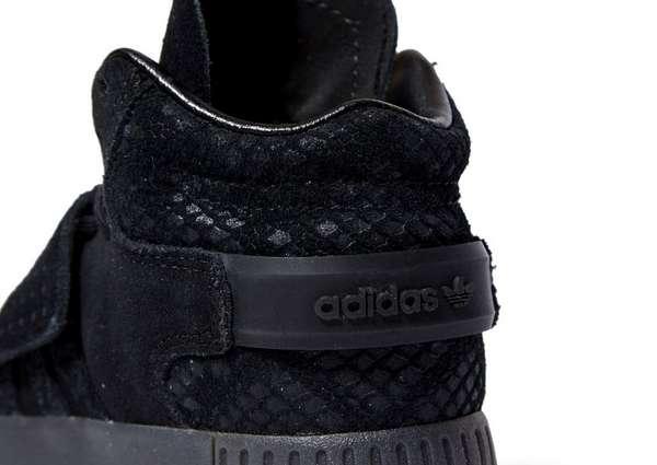 Adidas Tubular Invader Strap Noire Enfant