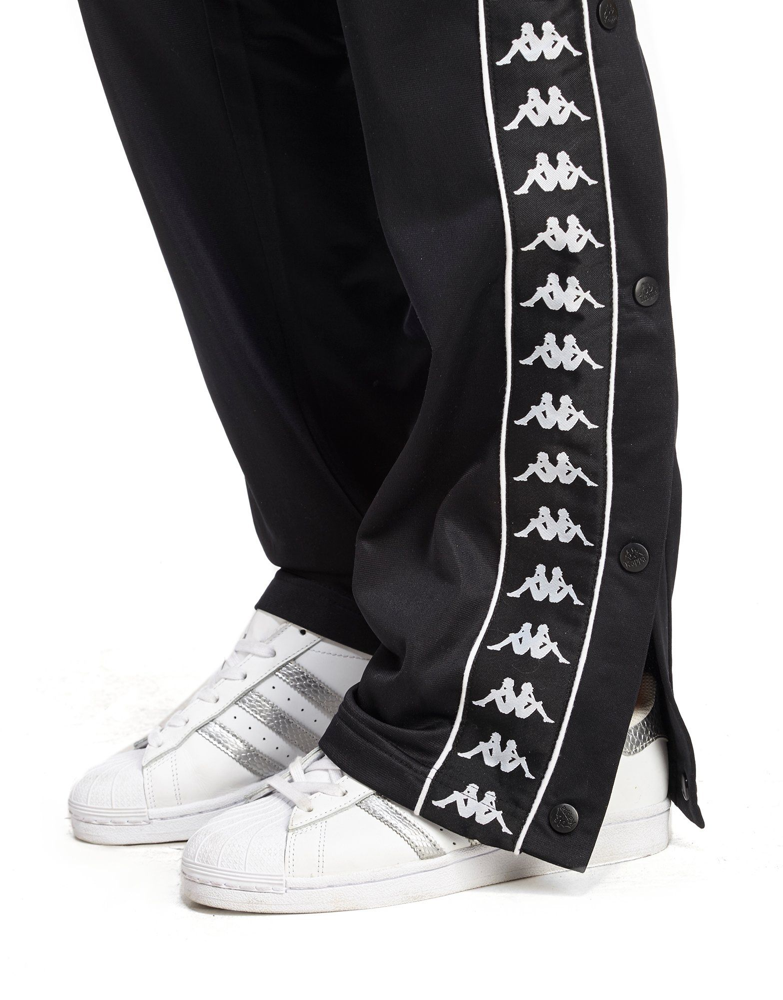 Kappa Authentic Popper Pants | JD Sports