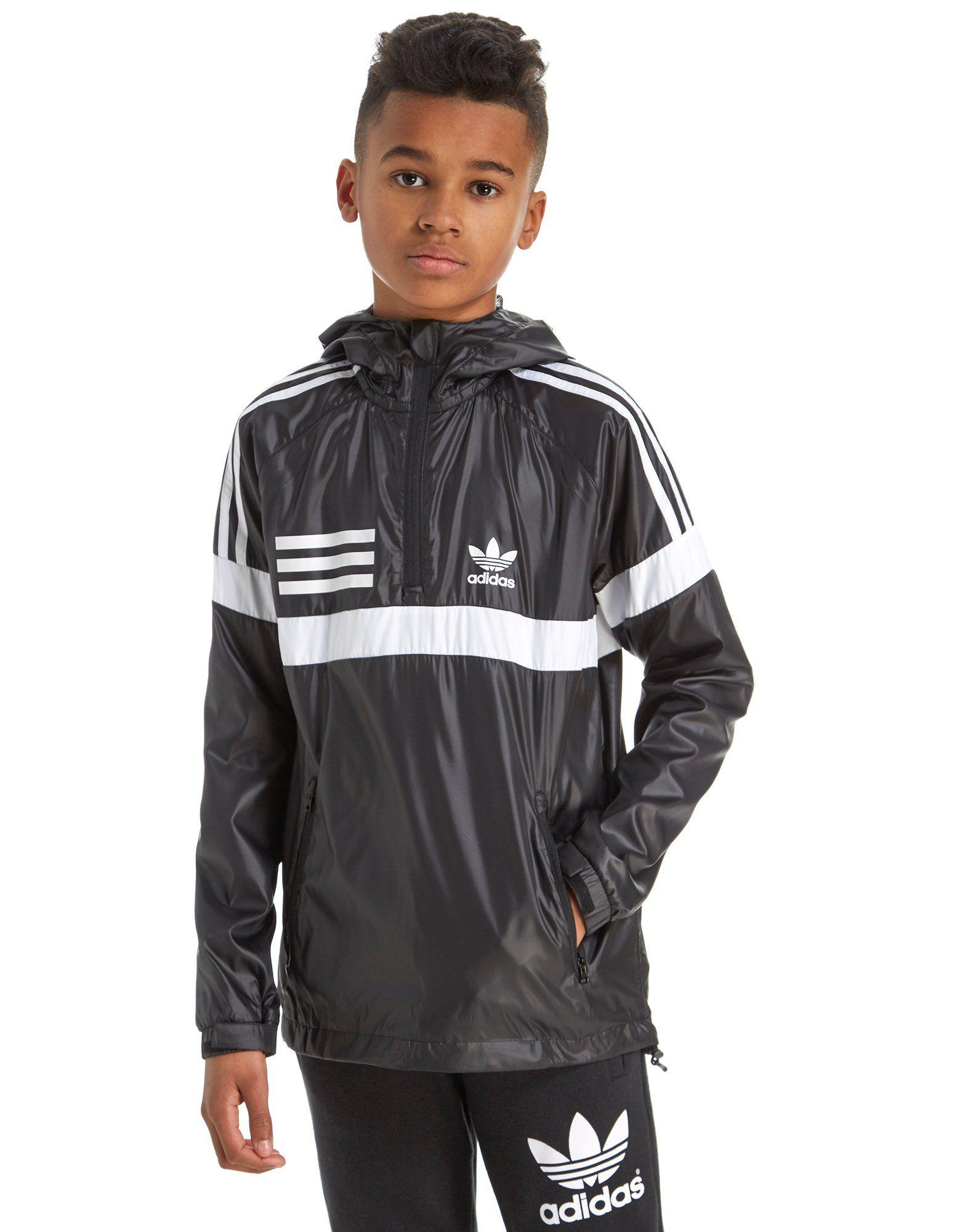 adidas Originals Urban 1/4 Zip Jacket Junior | JD Sports