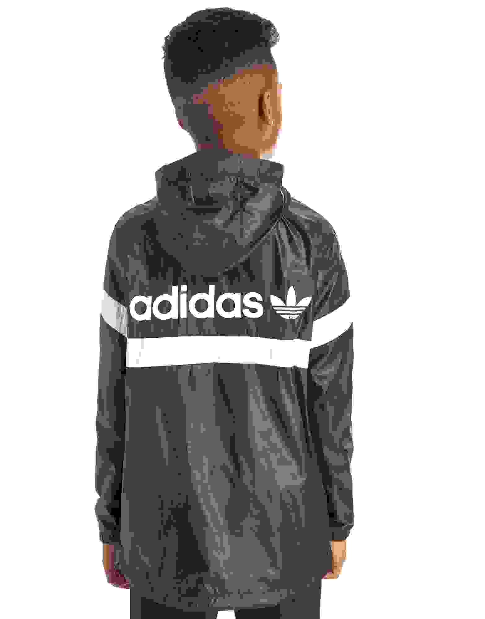 adidas quarter zip. adidas originals urban 1/4 zip jacket junior quarter