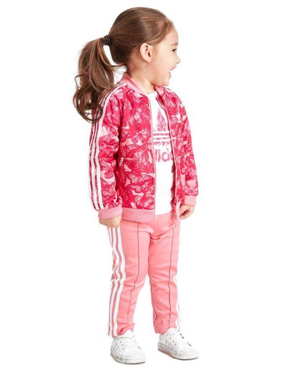adidas Originals Girls' Berlin Superstar Suit Infant