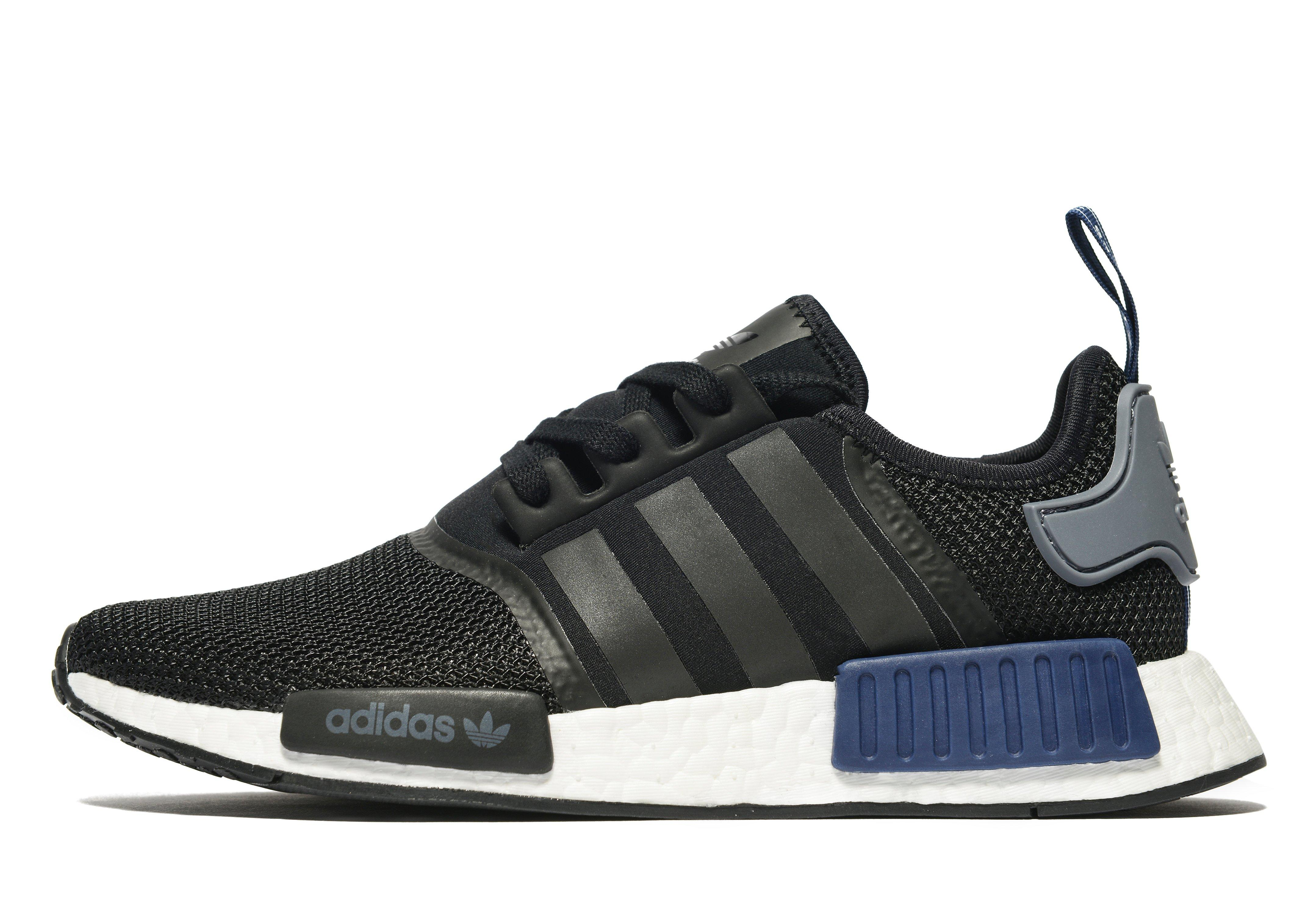 sale retailer 4d4c1 ced8a adidas mens nmd r1 running shoes adidas nmd r1 womens grey and pink