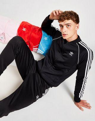 adidas Originals Superstar Track Top Heren | JD Sports