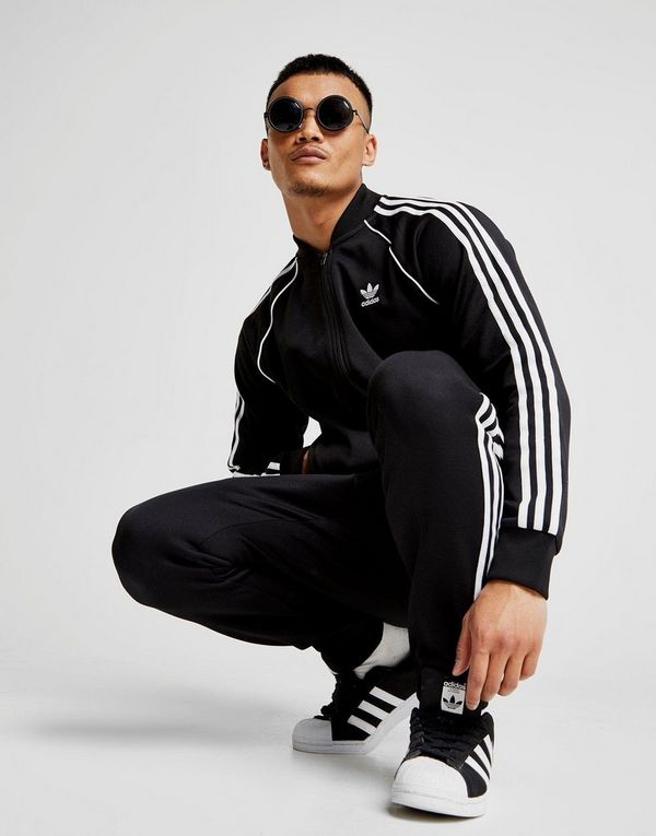 adidas Originals Haut de survêtement Superstar Track Homme   JD Sports 7ea0947754cf