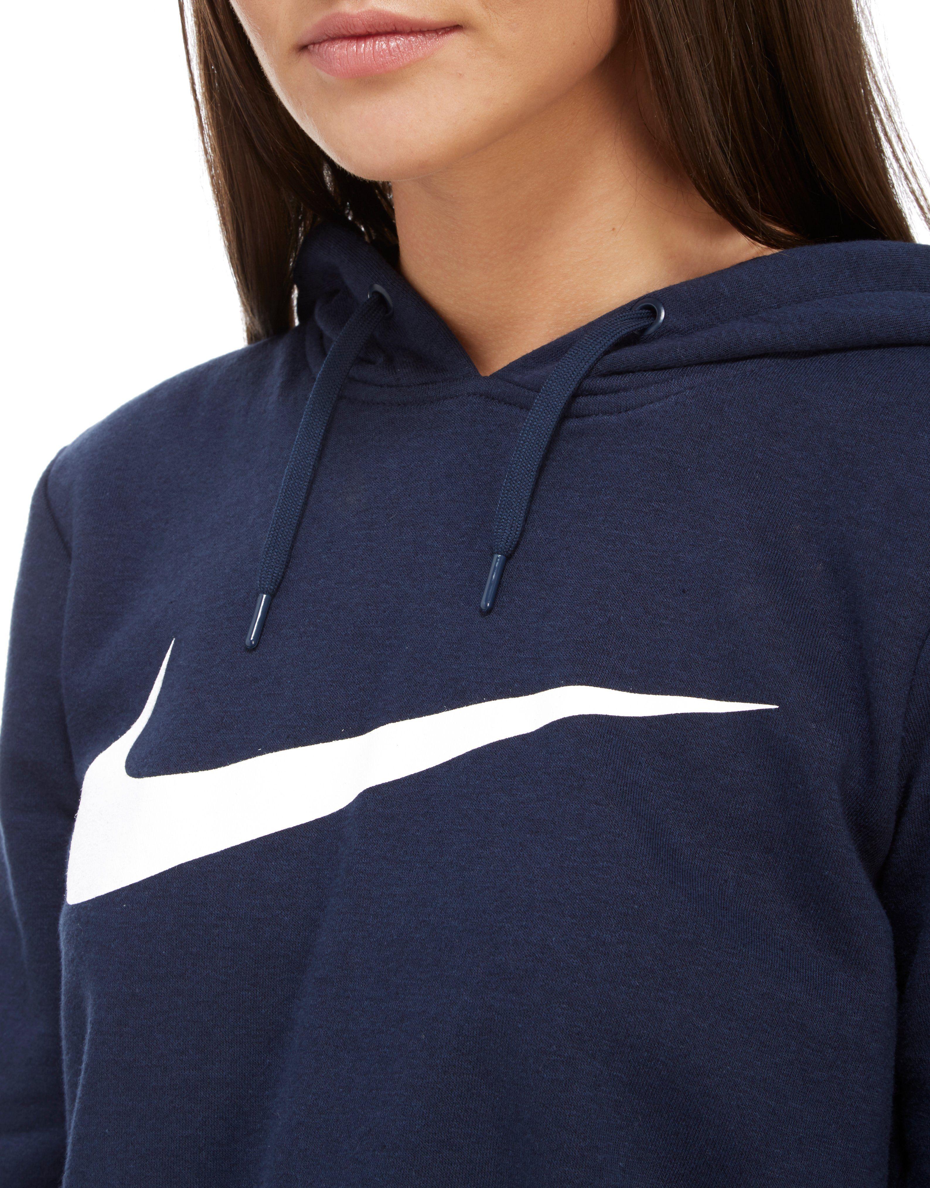 Nike Swoosh Crop Overhead Hoody