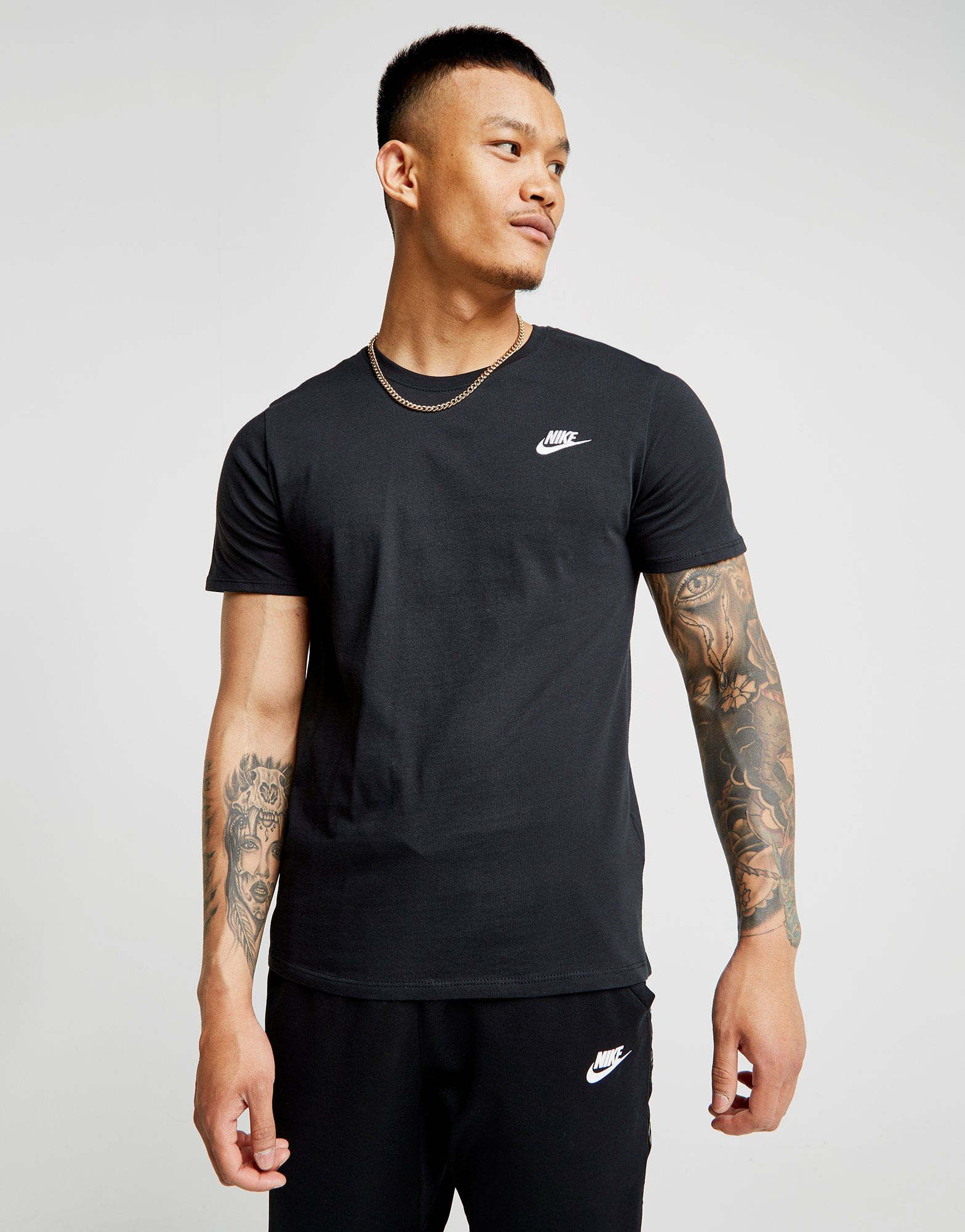 Black t shirt man - Nike Core T Shirt