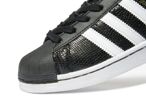 Adidas Superstar Black Reptile