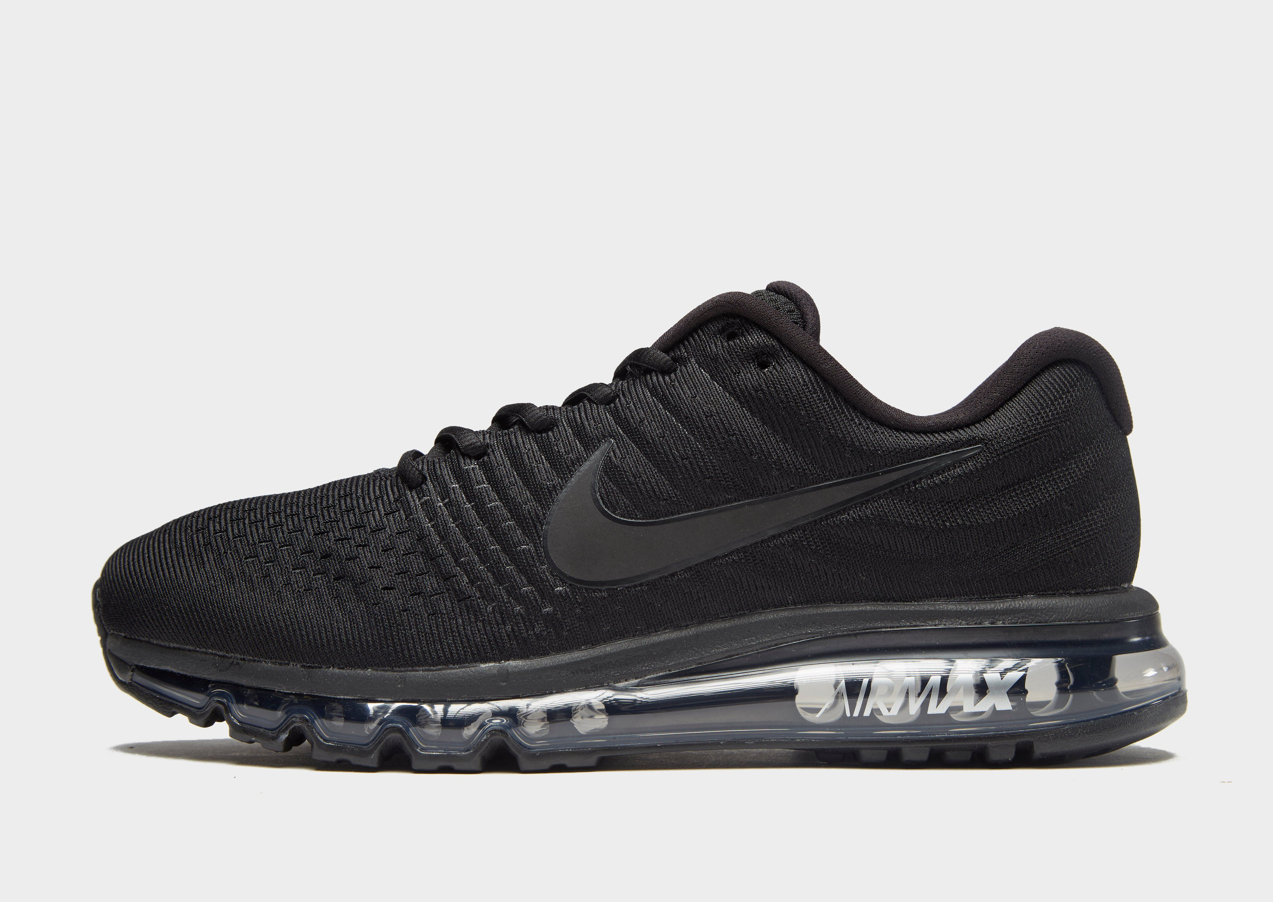 nike air max 2017 mens black