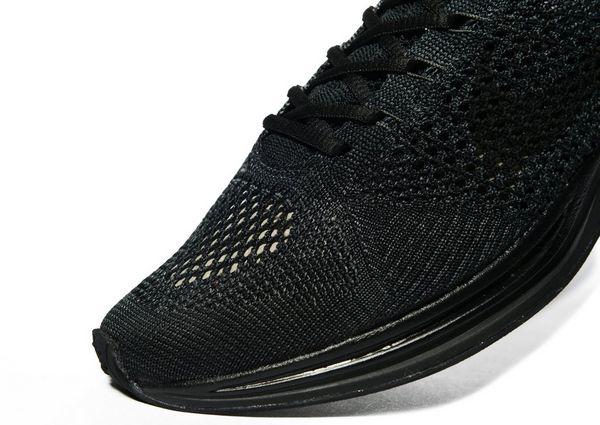 huge discount 98a5f 72cfe ... triple black pre order Nike Flyknit Racer .
