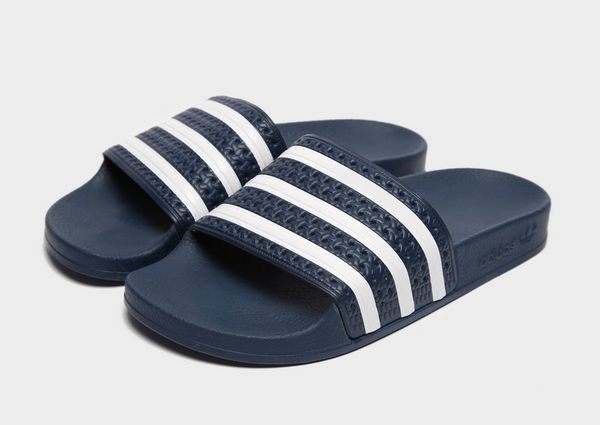 on sale c76df 7cf47 adidas Originals Adilette Slides Womens
