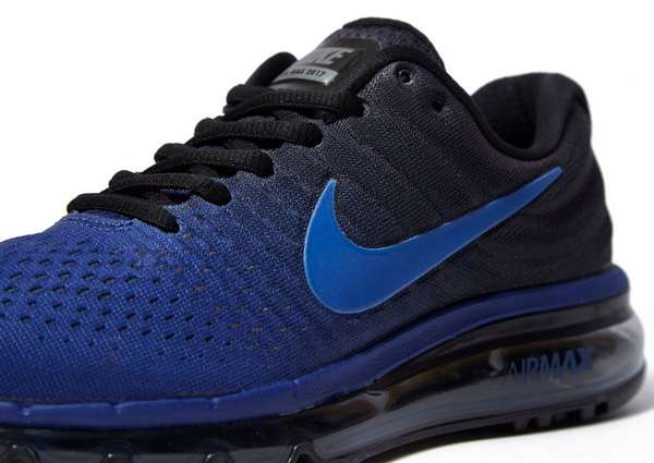 nike air max junior blauw
