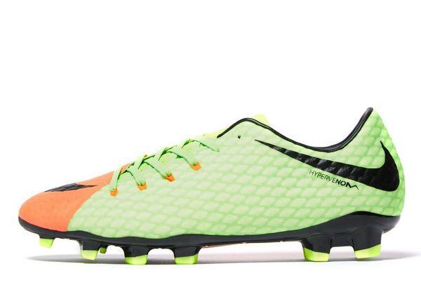 Nike Radiation Flare Hypervenom Phelon III FG Men's Green